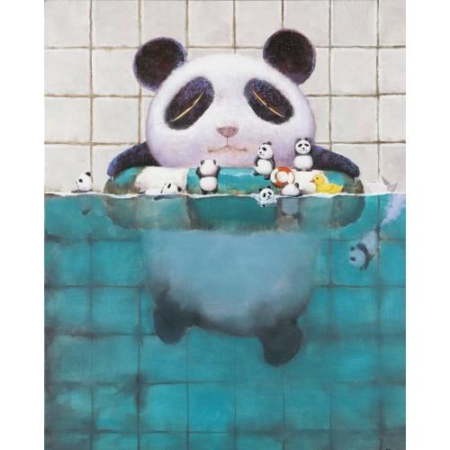 BABY PANDA - BATH TUB