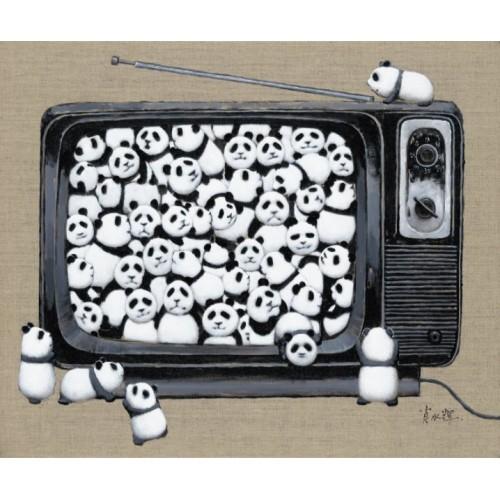 BABY PANDA - BLACK & WHITE TV