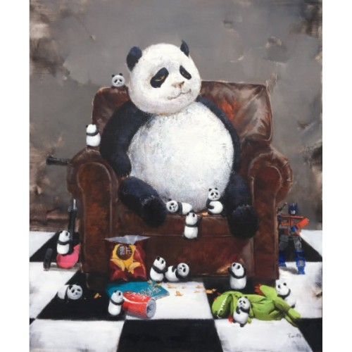 BABY PANDA - GAME OF THRONE