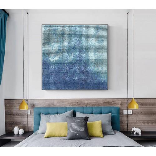 PIXEL WAVES - BLUE