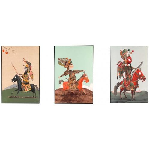 ROMANCE OF 3 KINGDOM (FULL SET - THE 3 BROTHERS)